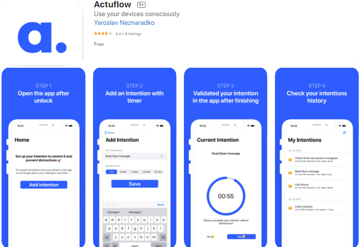 actuflow app best apps for android