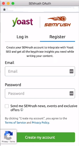 Now Keyword Research is Free with Yoast and SEMrush Integration 3