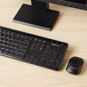 Wireless Computer Keyboard and Mouse Combo